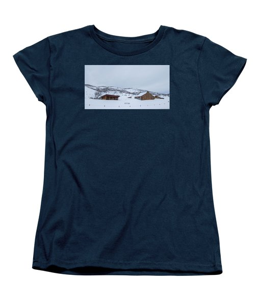 Colorado Ranch Women's T-Shirt (Standard Cut) by Sean Allen