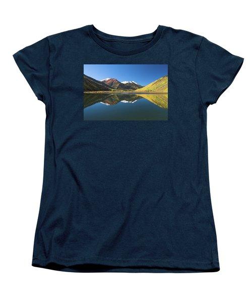 Women's T-Shirt (Standard Cut) featuring the photograph Colorado Reflections by Steve Stuller