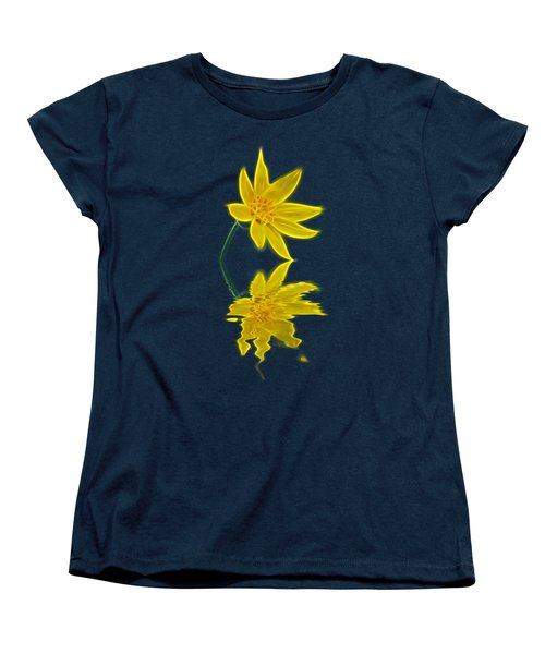 Colorado Wildflower Women's T-Shirt (Standard Cut) by Shane Bechler