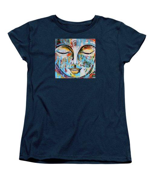 Colorful Buddha Women's T-Shirt (Standard Cut)