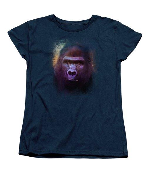 Colorful Expressions Gorilla Women's T-Shirt (Standard Cut)