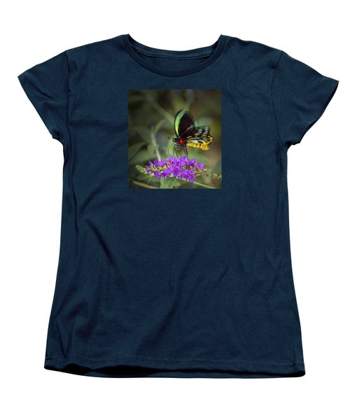 Colorful Northern Butterfly Women's T-Shirt (Standard Cut) by Penny Lisowski