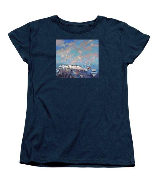 Colors Flamingo Women's T-Shirt (Standard Cut) by Anastasija Kraineva
