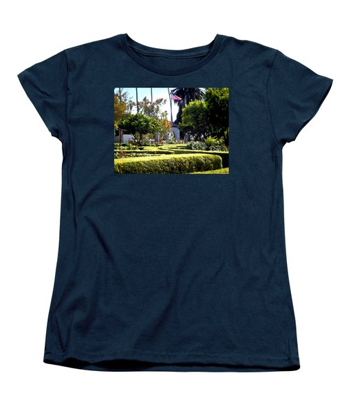 Women's T-Shirt (Standard Cut) featuring the photograph Colors In The Garden by Glenn McCarthy Art and Photography