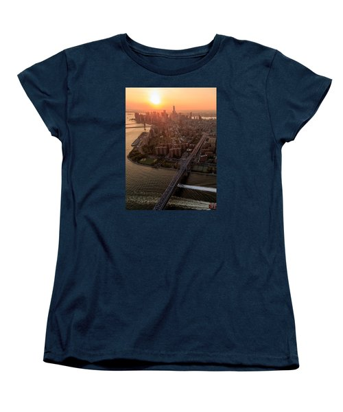 Colors Of Ny Women's T-Shirt (Standard Cut) by Anthony Fields