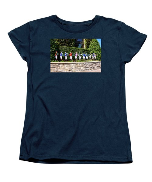 Colors Of Past Stakes At Keeneland Ky Women's T-Shirt (Standard Cut) by Chris Smith