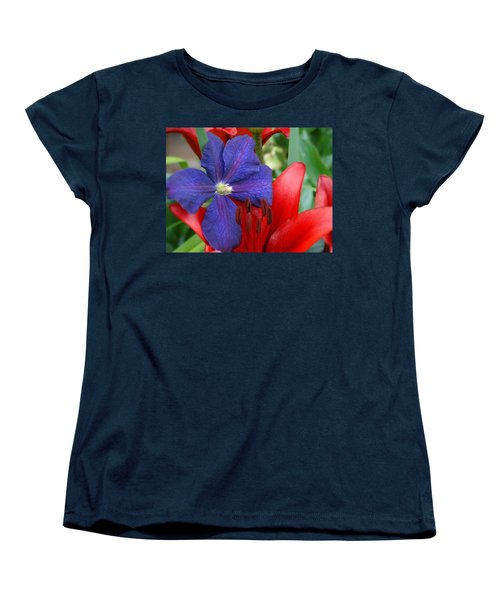 Women's T-Shirt (Standard Cut) featuring the photograph Colors Of Summer by Rebecca Overton