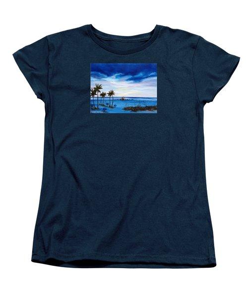Colors On The Gulf Women's T-Shirt (Standard Cut) by Lloyd Dobson