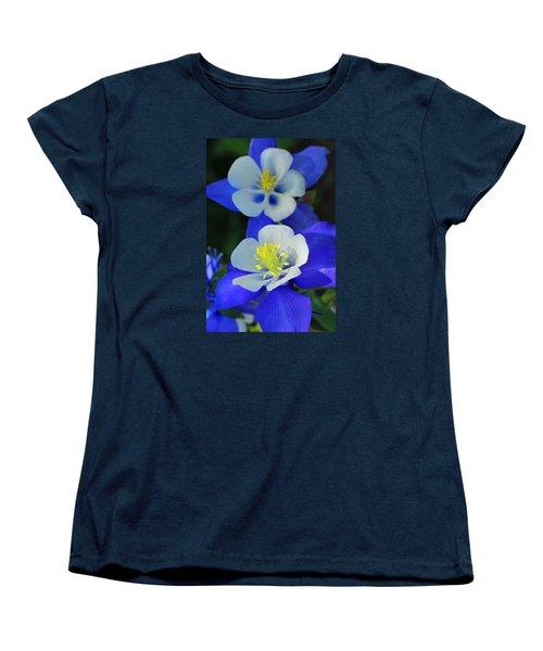 Columbine Day Women's T-Shirt (Standard Cut) by Iryna Goodall
