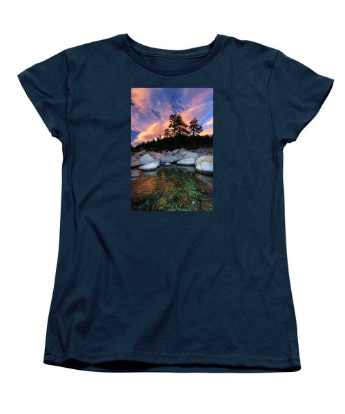 Come Into My World Women's T-Shirt (Standard Cut) by Sean Sarsfield
