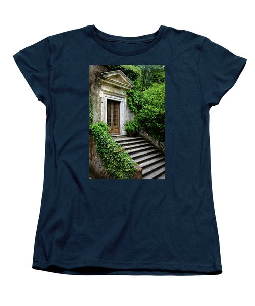 Women's T-Shirt (Standard Cut) featuring the photograph Come On Up To The House by Marco Oliveira