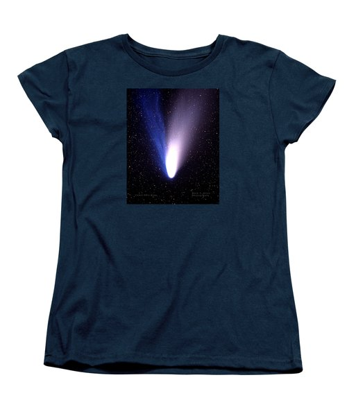 Comet Hale-bopp Women's T-Shirt (Standard Cut) by Mark Allen