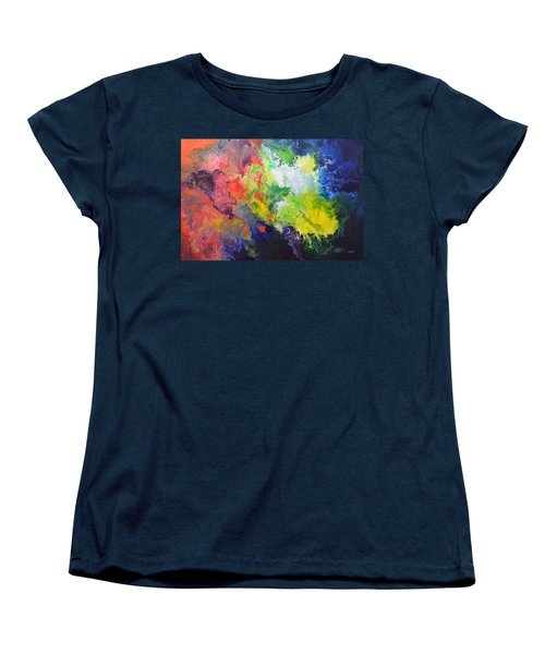 Comet Women's T-Shirt (Standard Cut) by Sally Trace