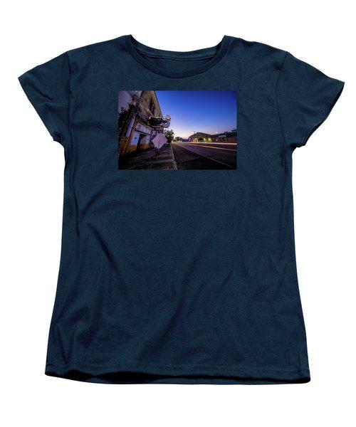 Commerce East Women's T-Shirt (Standard Cut) by Micah Goff