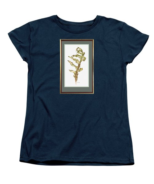 Compass Plant, Fall Women's T-Shirt (Standard Cut) by Catherine Twomey
