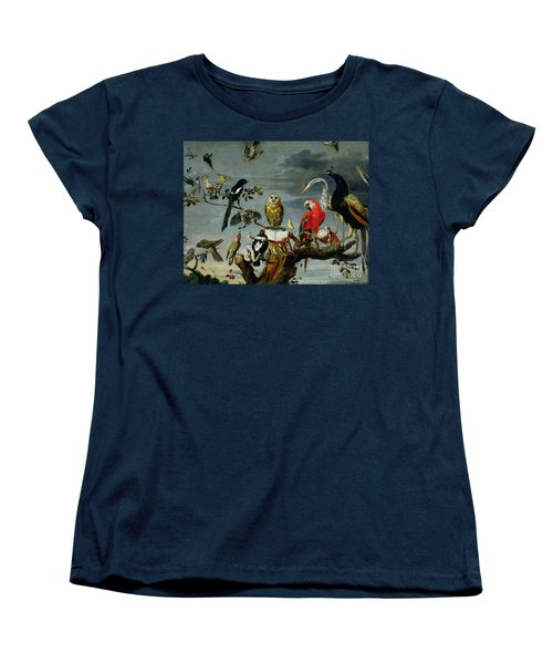 Concert Of Birds Women's T-Shirt (Standard Cut) by Frans Snijders