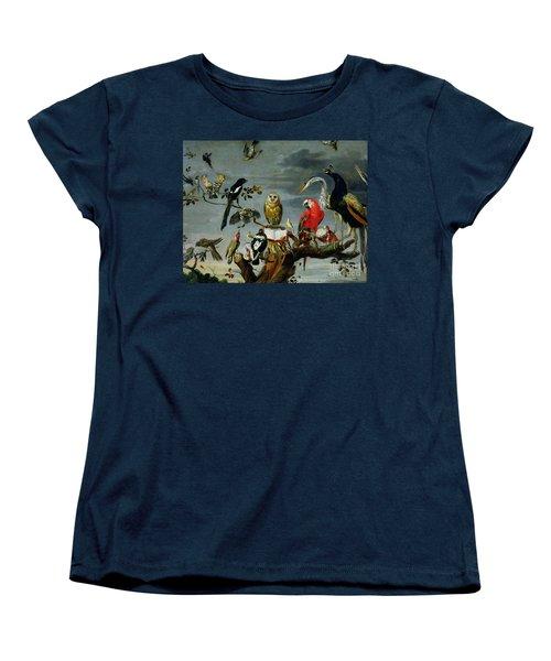 Concert Of Birds Women's T-Shirt (Standard Cut) by Frans Snijders