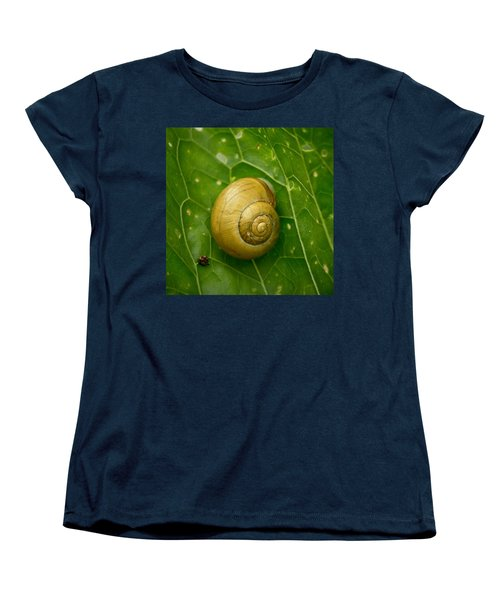Women's T-Shirt (Standard Cut) featuring the photograph Conch by Jouko Lehto
