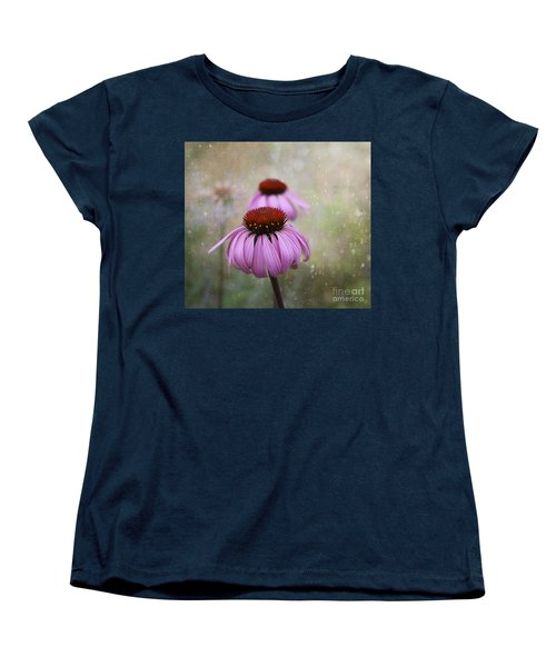 Coneflower Dream Women's T-Shirt (Standard Cut) by Nina Silver