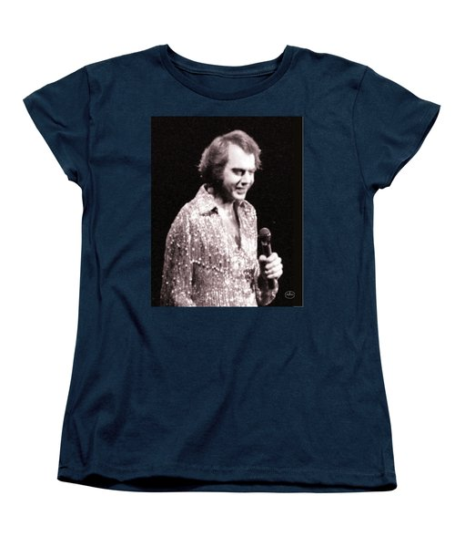 Connecting With The Audience Women's T-Shirt (Standard Cut) by Ron Chambers