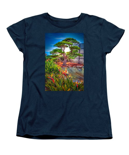 Women's T-Shirt (Standard Cut) featuring the photograph Consciousness Waves And Then Matters by TC Morgan