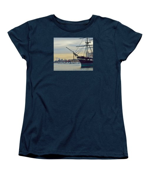 Constellation And Domino Sugars Women's T-Shirt (Standard Cut) by William Bartholomew