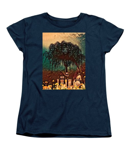 Consulting The Mother Women's T-Shirt (Standard Cut) by Vennie Kocsis