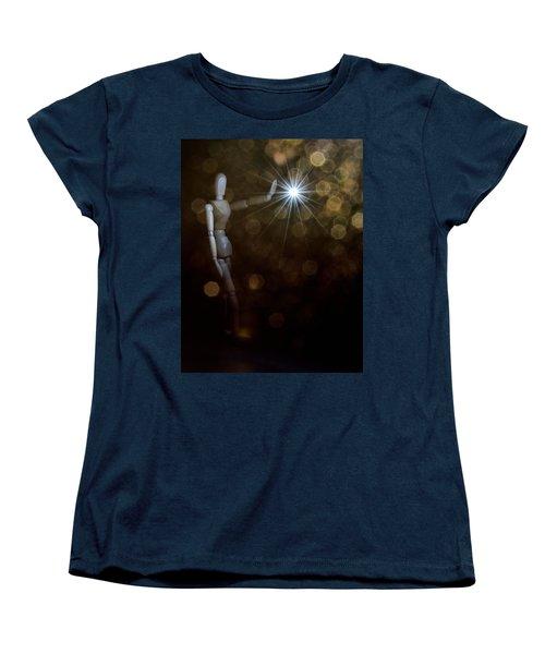 Contact Women's T-Shirt (Standard Cut) by Mark Fuller
