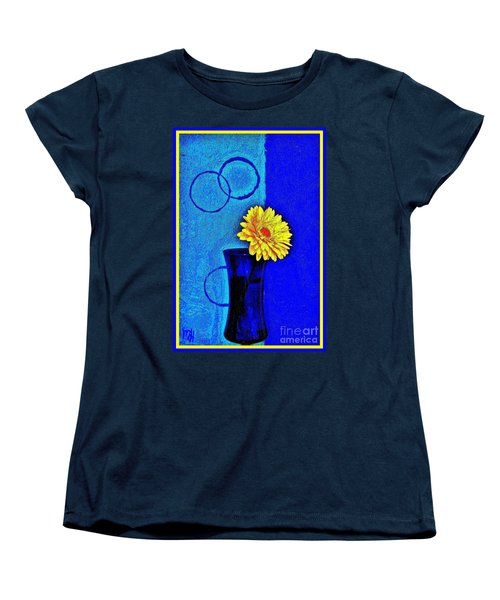 Women's T-Shirt (Standard Cut) featuring the photograph Contemporary Gerber by Marsha Heiken