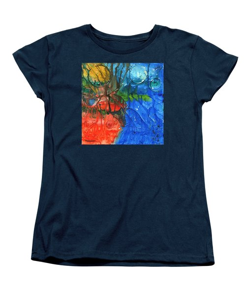 Continental Divide Women's T-Shirt (Standard Cut)