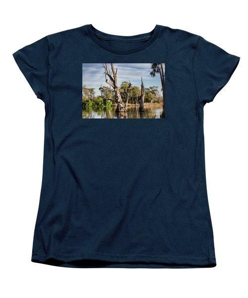 Women's T-Shirt (Standard Cut) featuring the photograph Contrasted by Douglas Barnard