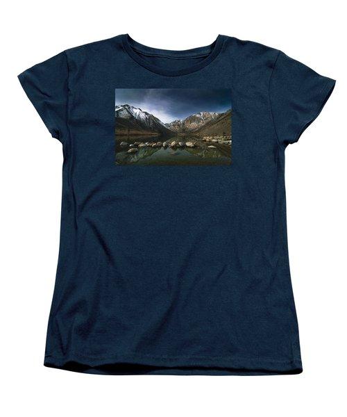 Convict Lake Women's T-Shirt (Standard Cut) by Ralph Vazquez