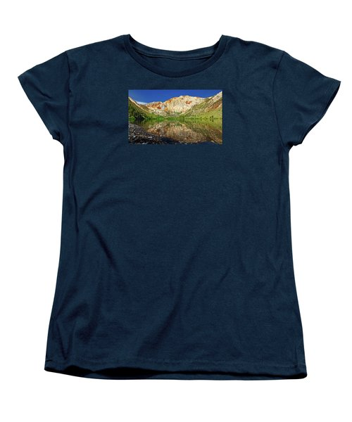 Convict Lake Women's T-Shirt (Standard Cut) by Rick Furmanek