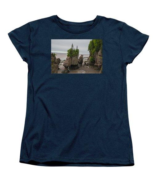 Cool Rocks Women's T-Shirt (Standard Cut) by Will Burlingham
