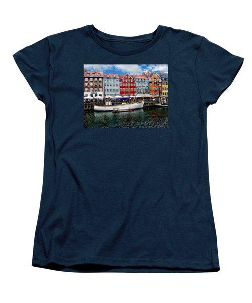 Copenhagen - Denmark Women's T-Shirt (Standard Cut) by Anthony Dezenzio