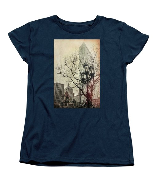 Women's T-Shirt (Standard Cut) featuring the photograph Copley Square - Boston by Joann Vitali