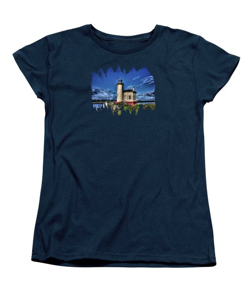 Coquille River Lighthouse Women's T-Shirt (Standard Cut) by Thom Zehrfeld