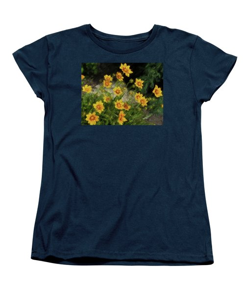 Coreopsis Tickseed Women's T-Shirt (Standard Cut)