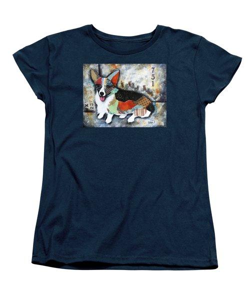 Corgi 2 Women's T-Shirt (Standard Cut) by Patricia Lintner
