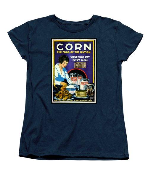 Corn 1918 Women's T-Shirt (Standard Cut) by Padre Art