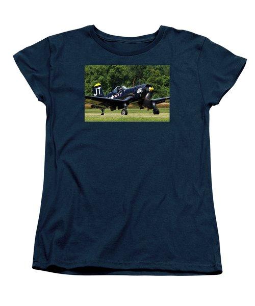Women's T-Shirt (Standard Cut) featuring the photograph Corsair Close-up by Peter Chilelli