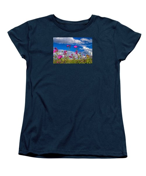 Cosmos Sky Women's T-Shirt (Standard Cut) by Alana Thrower
