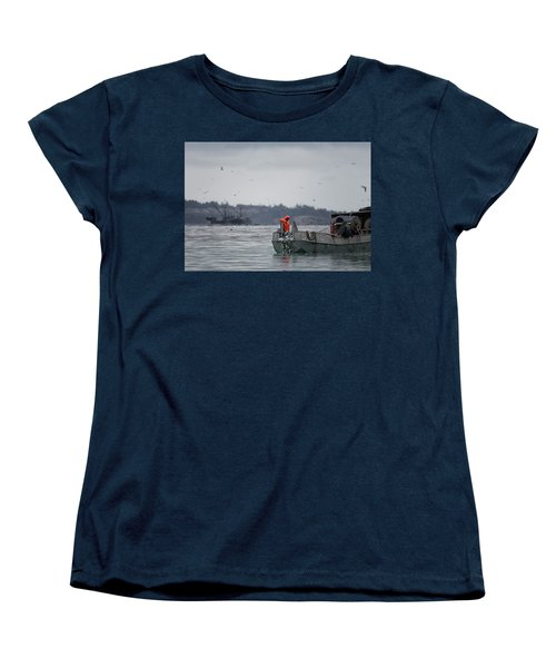 Women's T-Shirt (Standard Cut) featuring the photograph Country Club by Randy Hall