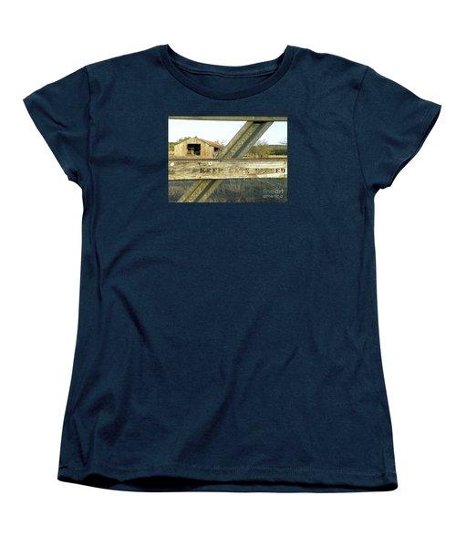 Women's T-Shirt (Standard Cut) featuring the photograph Country Quiet by Joe Jake Pratt