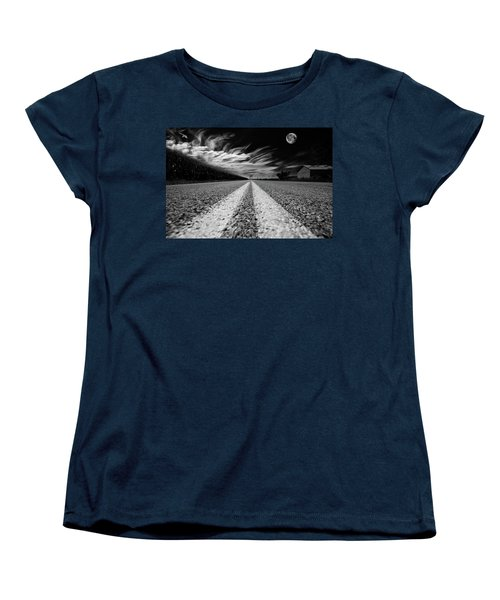 Country Road 51 Women's T-Shirt (Standard Cut) by Kevin Cable