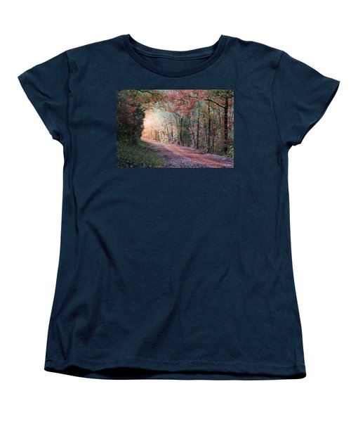 Country Road Women's T-Shirt (Standard Cut) by Bill Stephens