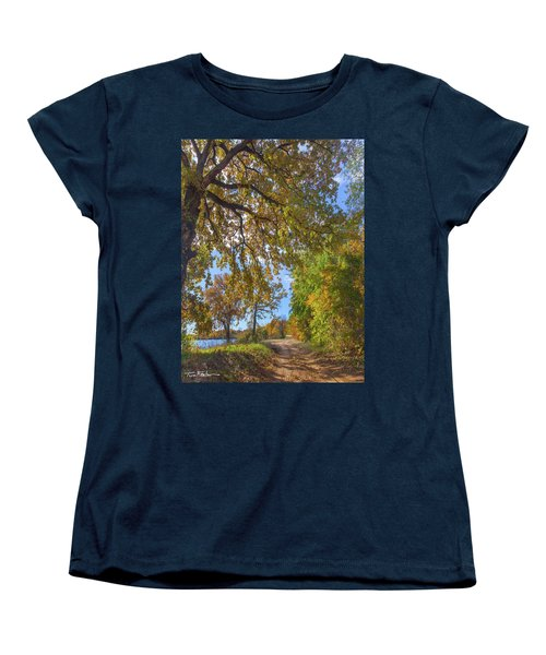 Country Road Women's T-Shirt (Standard Cut) by Tim Fitzharris