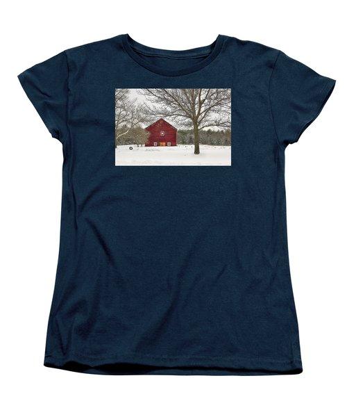 Women's T-Shirt (Standard Cut) featuring the digital art Country Vermont by Sharon Batdorf