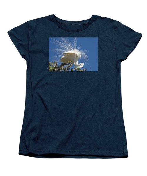 Courting Display Women's T-Shirt (Standard Cut) by Kenneth Albin