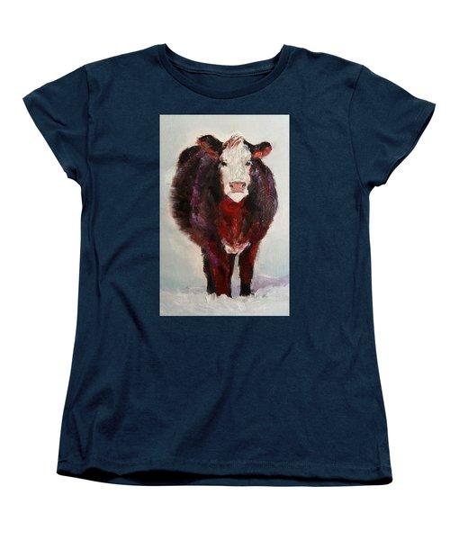 Cow Painting  Women's T-Shirt (Standard Cut)